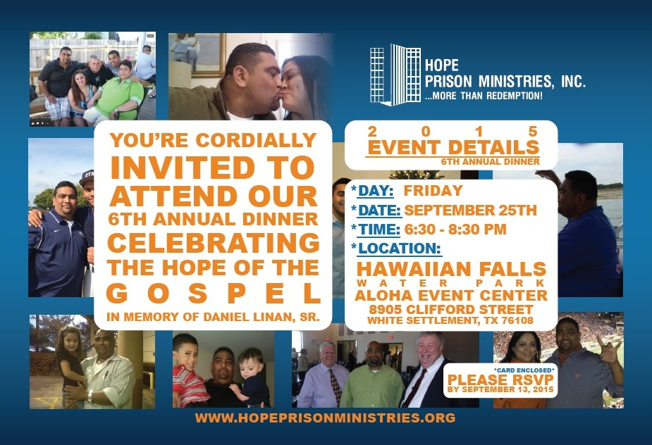 6th Annual Celebration of the Hope of the Gospel Invitation