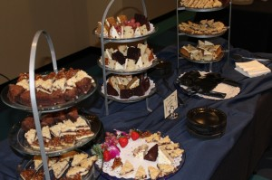 6th Annual Celebration of the Hope of the Gospel Dessert Table
