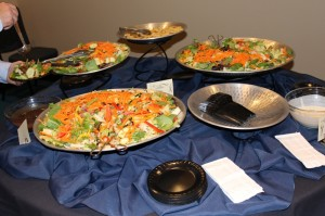 6th Annual Celebration of the Hope of the Gospel Salad Table